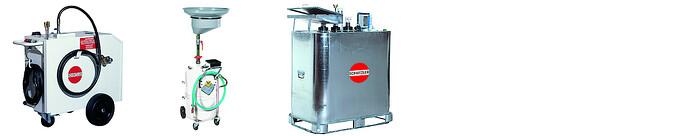 Altölentsorgungsanlagen und Altölauffang- und Altölabsauggeräte